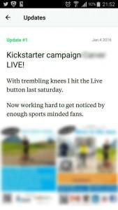kickstarter day 1